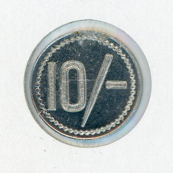 Thumbnail for Royal Queensland Yacht Club 10 Shilling Token