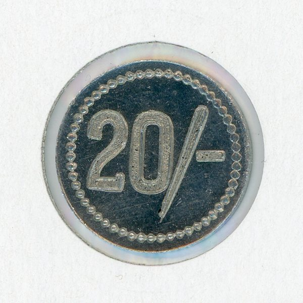 Thumbnail for Royal Queensland Yacht Club 20 Shilling Token