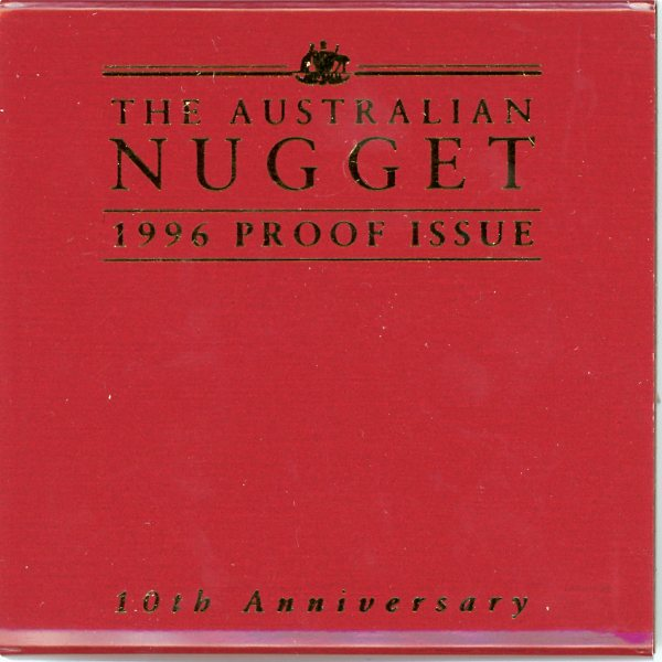 Thumbnail for 1996 Australian Nugget Proof issue - 10th Anniversary