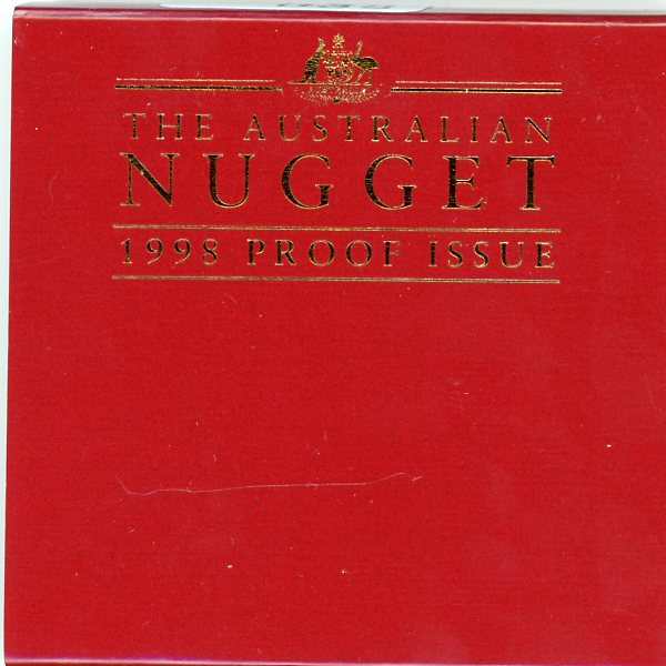 Thumbnail for 1998 Australian Nugget Proof Issue