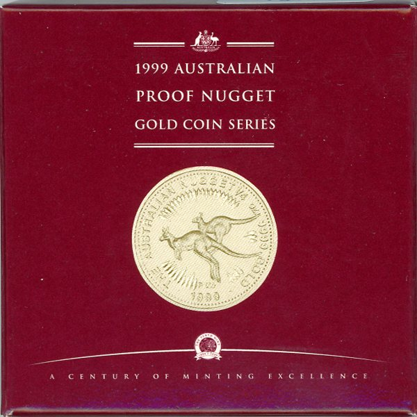 Thumbnail for 1999 Australian Nugget Proof Issue