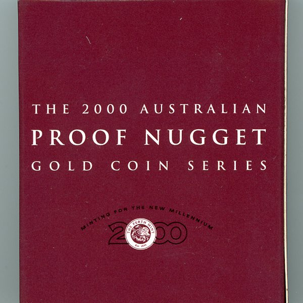 Thumbnail for  2000 Australian Proof Nugget Gold Coin Series