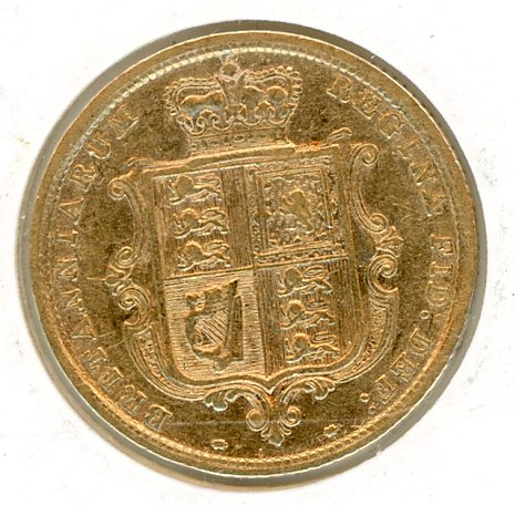 Thumbnail for 1884 Gold Half Sovereign