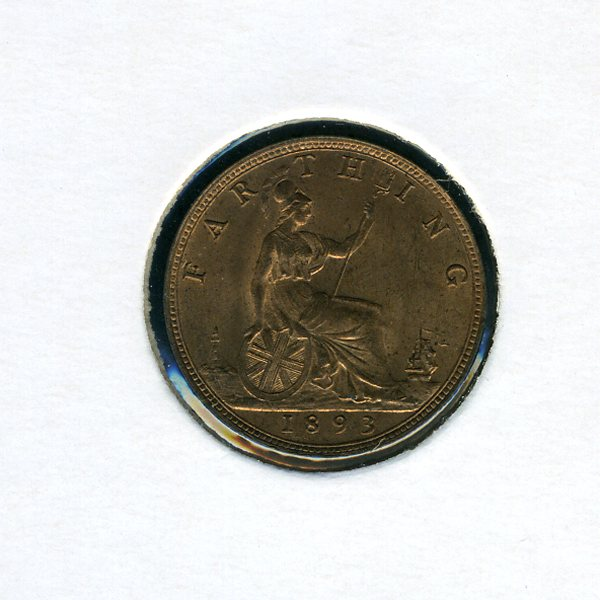 Thumbnail for 1893 Farthing - almost Uncirculated