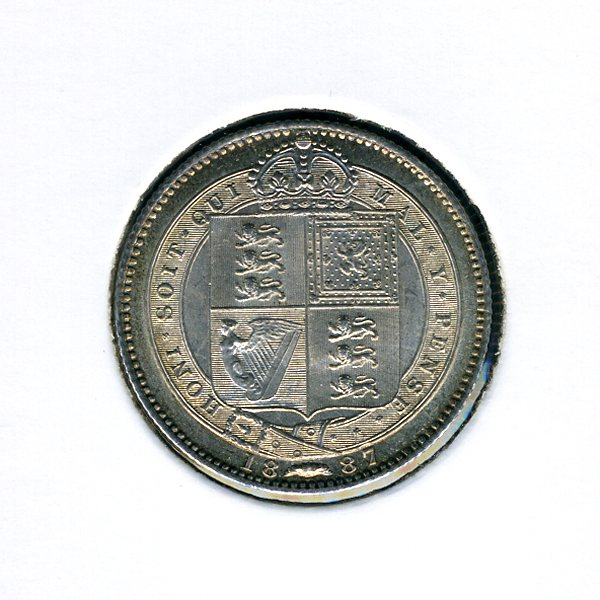 Thumbnail for 1897 Shilling - almost Uncirculated