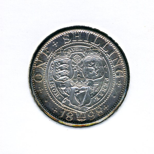 Thumbnail for 1898 Shilling - almost Uncirculated