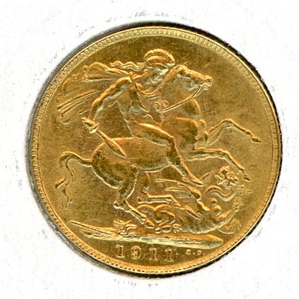 Thumbnail for 1911 UK Gold Sovereign