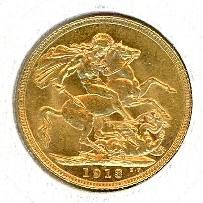 Thumbnail for 1913 UK Gold Sovereign