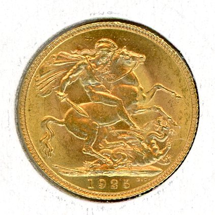 Thumbnail for 1925 UK Gold Sovereign