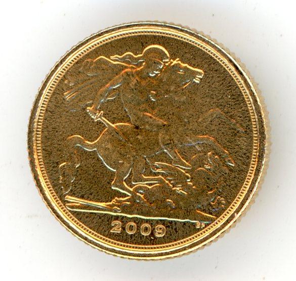 Thumbnail for 2009 UK Gold Quarter Sovereign