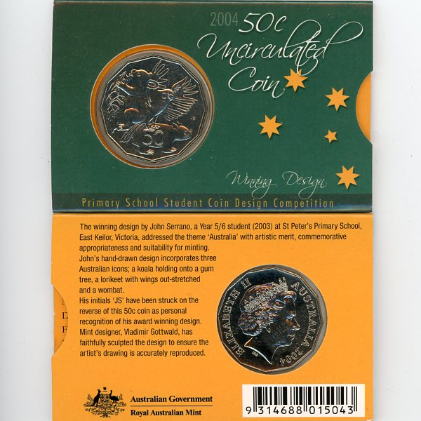 Thumbnail for 2004 Primary School Student Coin Design Competition