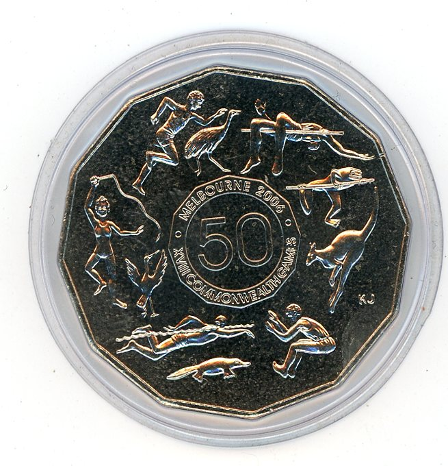 Thumbnail for 2005 Uncirculated Student Design Fifty Cent Coin in Capsule