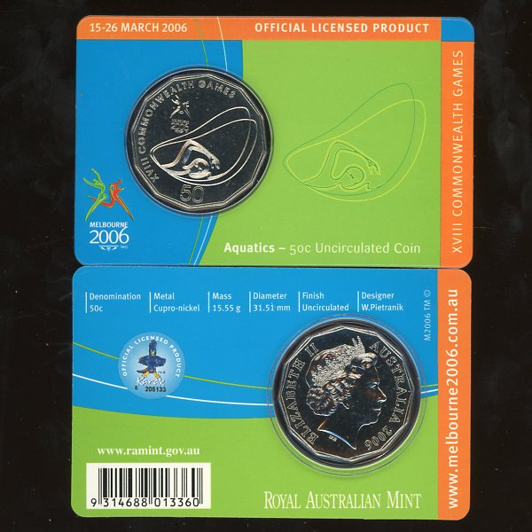 Thumbnail for 2006 XVIII Commonwealth Games - Aquatics