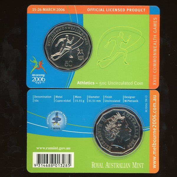 Thumbnail for 2006 XVIII Commonwealth Games - Athletics