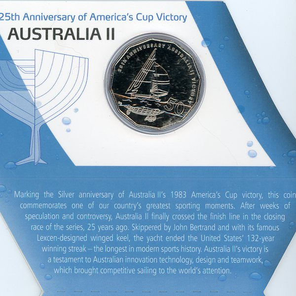 Thumbnail for 2008 25th Anniversary of Americas Cup Victory