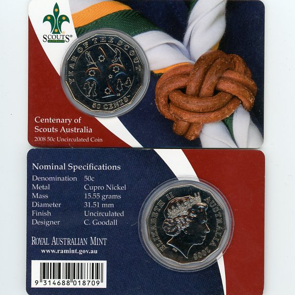 Thumbnail for 2008 Centenary of Scouts Australia