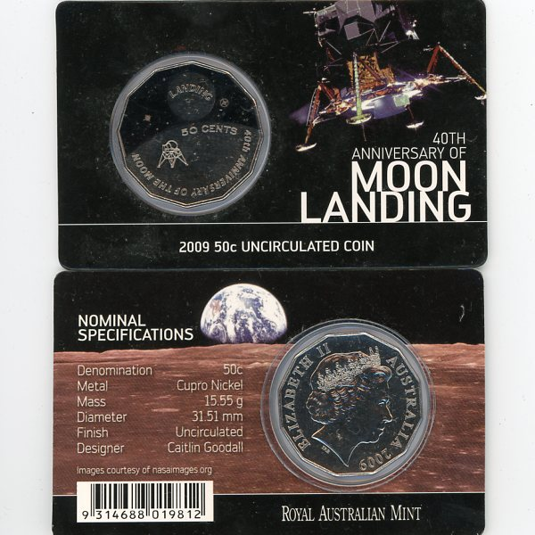 Thumbnail for 2009 40th Anniversary of Moon Landing