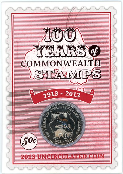 Thumbnail for 2013 100 Years of Commonwealth Stamps