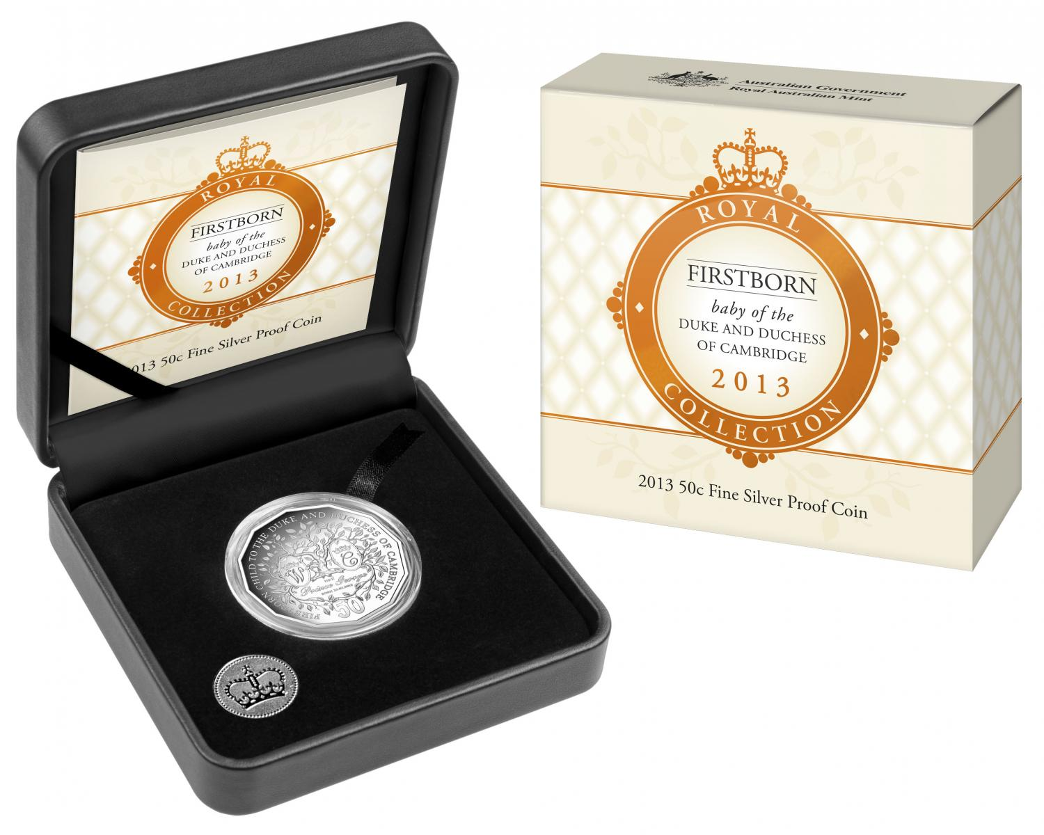 Thumbnail for 2013 First Born Baby of the Duke & Duchess of Cambridge Silver Proof