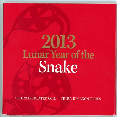 Thumbnail for 2013 Lunar Year of the Snake - Tetra-Decagon Series