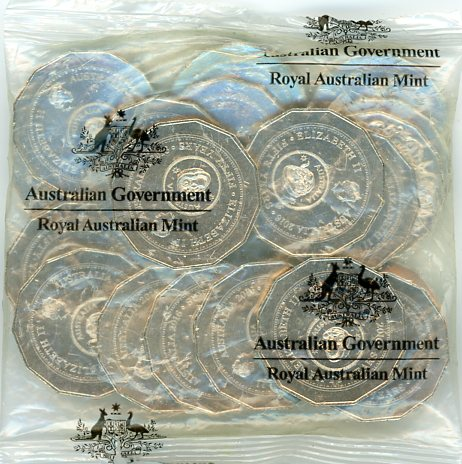 Thumbnail for 2016 50th Anniversary of Decimal Changeover Ram Satchel of 20