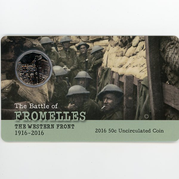Thumbnail for 2016 The Western Front - The Battle of Fromelles Fifty Cent