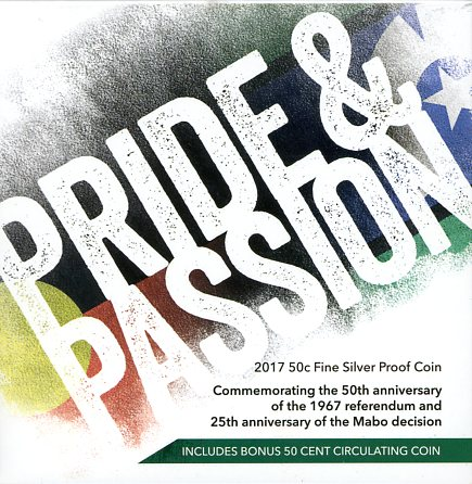 Thumbnail for 2017 50c Fine Silver Proof Coin - Pride and Passion