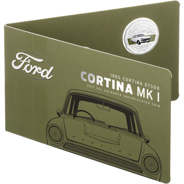 Thumbnail for 2017 Ford Heritage Coloured Fifty Cent - Cortina MKI