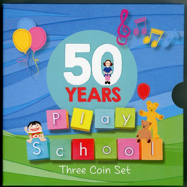 Thumbnail for 2016 Fifty years Play School - Three Coin Set