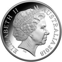 Image 3 for 2018 Sir John Monash Silver $5.00 Proof Coin