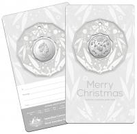 Image 5 for 2020 Christmas .50¢ UNC Coin on Card Decoration - Set of 5 Different Colours - DELAYED  DELIVERY