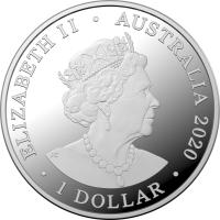 Image 3 for 2020 Star Dreaming - The Seven Sisters $1 Coloured Half Oz Fine Silver UNC Coin