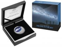 Image 3 for 2020 $1 Star Dreaming - Emu in The Sky  Coloured Half oz Fine Silver UNC Coin