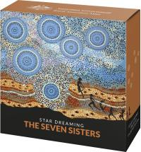Image 4 for 2020 Star Dreaming - The Seven Sisters $1 Coloured Half Oz Fine Silver UNC Coin