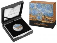 Image 1 for 2020 Star Dreaming - The Seven Sisters $1 Coloured Half Oz Fine Silver UNC Coin
