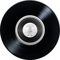 Image 3 for 2020 20c Coloured Uncirculated Coin 45th Anniversary ACDC - Ballbreaker   Album Release