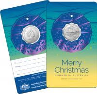 Image 3 for 2021 .50¢ Christmas Decoration CuNi UNC Coin - Set of 5