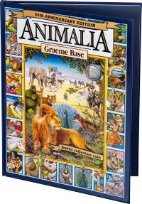 Image 1 for 2021 .20¢ 35th Anniversary of Animalia CuNi Coloured UNC Coin with Special Edition Book