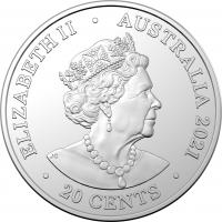 Image 4 for 2021 20c Coloured Uncirculated Coin 45th Anniversary ACDC - For Those About To Rock We Salute You