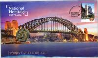 Image 1 for 2021 Issue 23 - National Heritage Australia - Sydney Harbour Bridge PNC with RAM $1 'S' Sydney  - limited to 6,500
