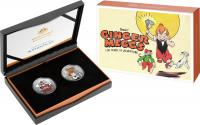 Image 1 for 2021 $1 Centenary of Ginger Meggs Half oz Silver FRUNC Two Coin Set - Mintage 5000