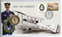 Image 1 for 2021 Issue 19 $1 Perth Mint Lest We Forget  RAAF PNC