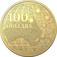 Image 1 for 2020 $100 Beneath the  Southern Skies Gold RAM Investment Coin