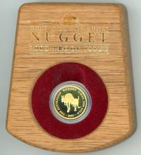 Image 1 for 2003 Australian Nugget One Tenth oz Gold Proof Coin - Kangaroo