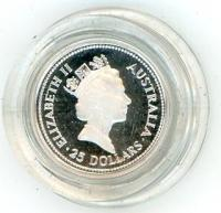 Image 2 for 1989 One Quarter oz Proof Platinum Koala