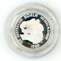 Image 1 for 1989 One Quarter oz Proof Platinum Koala