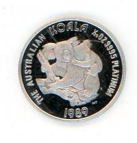 Image 1 for 1989 One Twentieth oz Koala Proof