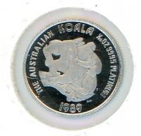 Image 1 for 1989 One Twentieth oz Proof Australian Koala