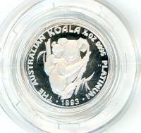 Image 1 for 1993 One Twentieth oz Proof Platinum Koala in Capsule
