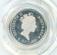 Image 2 for 1995 One Twentieth oz Proof Platinum Koala in Capsule